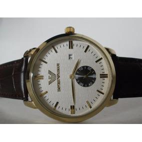 Hermoso Reloj Emporio Armani Con Calendario Subasta Desde $1