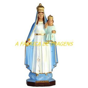 Imagem Nossa Senhora Gloria Linda Estatua 30cm Escultura Br
