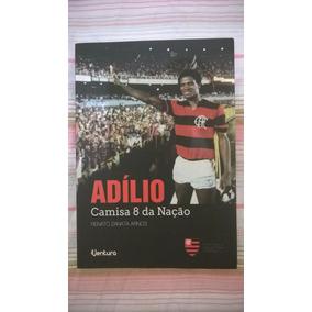 Livro Adílio - Camisa 8 Da Nação