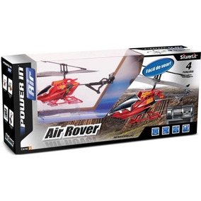 Helicóptero De Controle Remoto Air Rover Silverlit -vermelho