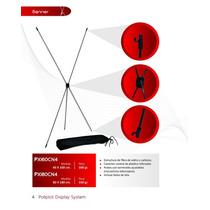 Display Porta Banner 60x160 Eco C/bolsa E Impresion $ 179.00