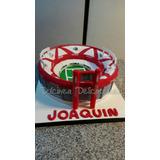 Tortas Decoradas Artesanales Tematicas Canchas De Futbol