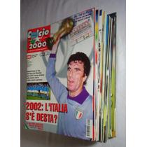 Revista Calcio 2000 Futebol Lote 15 Unidades 2002 E 2003