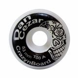 Roda Crazynboard Street Pro Model Dan Cezar 53mm 100a