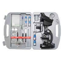 Microscópio Com Ampliação 300x 600x E 1200x Xsp-1200xt