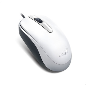 Mouse Usb Dx-120 31010105102 Branco Genius