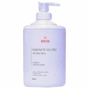 Sabonete Neutro Adcos Aloe Vera 500ml
