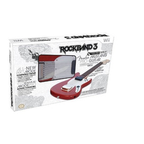 Rock Band 3 Wireless Fender Mustang Pro-guitar Controller P