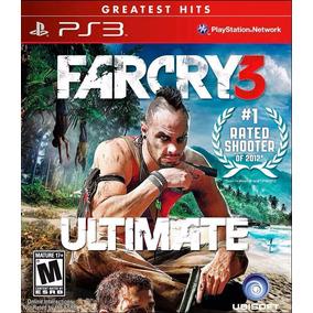 Far Cry 3 Ultimate Edition Digital * Ps3 * Tenelo Hoy !!