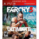 Far Cry 3 Ultimate Edition Digital * Ps3 * Tenelo Hoy !!
