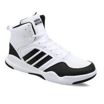 Zapatillas Adidas Neo Cloudfoam Rewind Mid Blanco C/negro