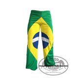 Calça Capoeira Bandeira Do Brasil - Rabo De Arraia