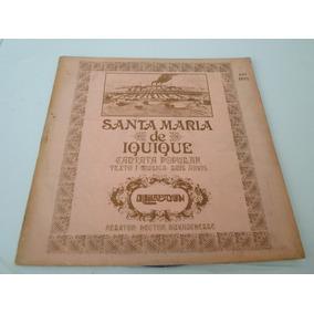 Quilapayun - Santa Maria De Iquique - Vinilo + Libro