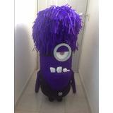 Piñata Minion Morado Mi Villano Favorito