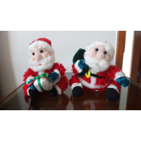 Boneco Papai Noel Enfeite De Natal