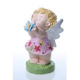 Boneca/fadinha Em Gesso/decoração/infantil