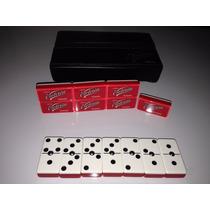 Dominó Profesional Acrilico Victoria Corona America Poker*