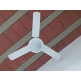 Ventilador Delta Light C/ Lustre Miami Branco - Motor Grande