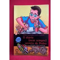 Livroo Diário (nem Sempre) Secreto De Pedro Telma Guimarães