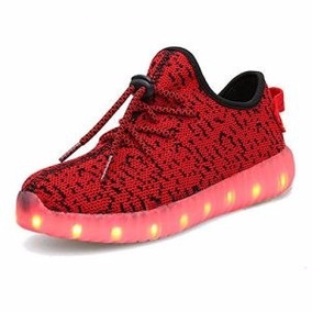 Tenis Led- 2017 Shoes Luminosos 12msi Envio Gratis