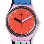 Reloj Swatch Gb286 A Coté Silicona Colores Wr50mts