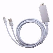 Cable Usb Lightning Hdmi Hd 1080p Iphone 5 6 7 Ipad