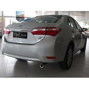 Ponteira Toyota Corolla 2015 Até 2018 Em Aço Inox 304