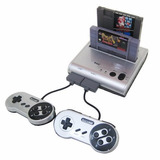 Consola-retro-bit Retro Duo Twin Video Game System, Silver/b