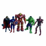 Set 5 Figuras De Acción Los Vengadores The Avengers Heroes