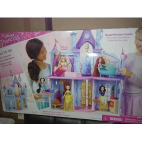 Castillo Princesas Disney Grande Hasbro Ariel, Bella, Jazmin