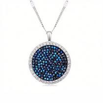 Collar Con Cristales Swarovski Elements - Regalo Joyas Mujer