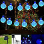 Luces Navidad Solar De Cadena Guirnalda De Luz, 20 Pies 30l