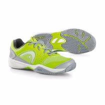 Zapatillas Para Tenis Padel Head Sprint Evo Junior Neon Niño