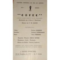 Teatro Municipal Orfeo Com Fedor Barbieri Regente Erico