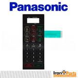 Teclado Membrana Forno Microondas Panasonic Nn St 359 Mruk