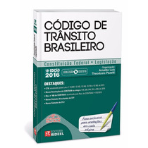 Código De Trânsito Brasileiro / Rideel 2016