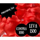 1000 Pétalas Vermelhas Rosas Flor Artificiais Seda Decora