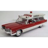Cadillac 1966 Ambulancia Escala 1:18 Greenlight Presicion