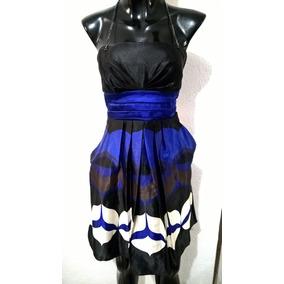 Vestido Lindo Satinado Con Bolsas Talla 7 8 Jump Girl