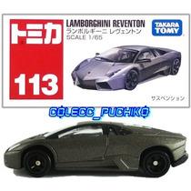 Tomica Carro Lamborghini Reventon 1/65 Metalico Takara Japon