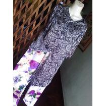 Moda Ropa Pantalon Bluson Blusa Dama Conjunto Talla M