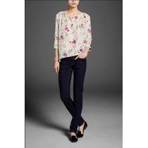 Zara Blusa Casual Verano Talla Grande Moda Asiatica