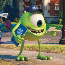 Monster Inc University - Gigantografias Adhesivas