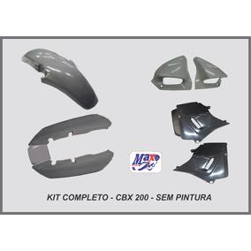 Kit Carenagem Cbx 200 Strada Sem Pintura