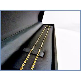 V I P- Cadena Oro Amarillo Solido 10k Mod Torzal 2mm 6.7grs
