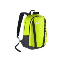 Bonita Mochila Nike Negra Con Amarillo Fosforescente