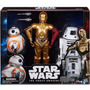 Star Wars Figuras Pack Com 3 B6449 - Hasbro Original