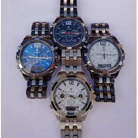 Relógio Masculino Potenzia Digital E Analógico Frete Grátis