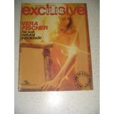 Revista Exclusive Vera Fischer Com Poster 1980 Frete Gratis