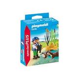 Retromex Playmobil 5376 Niña Exploradora Con Nutrias Bosque